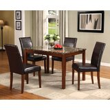 Knight 5 Piece Dining Set by A&J Homes Studio