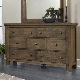 Plentywood 7 Drawer Dresser August Grove
