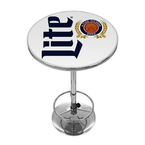 Miller Lite Retro Pub Table by Trademark ..