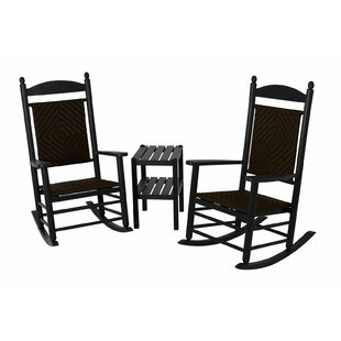 POLYWOOD® Jefferson 3-Piece Rocking Chair Set