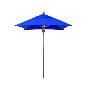 Sierra Series 6' Square Market Sunbrella Umbrella by California Umbrella