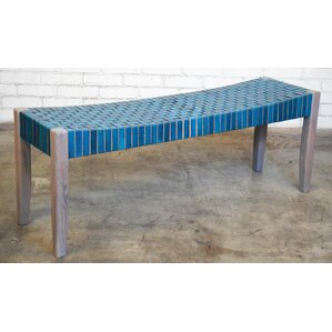 Hera Wood Bench by Bungalow Rose