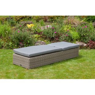 Swindon Sun Lounger With Cushion By Sol 72 Outdoor