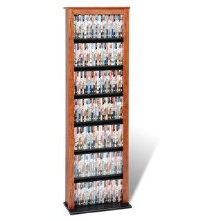 Lamb Slim Barrister Multimedia Storage Rack by Red Barrel Studio