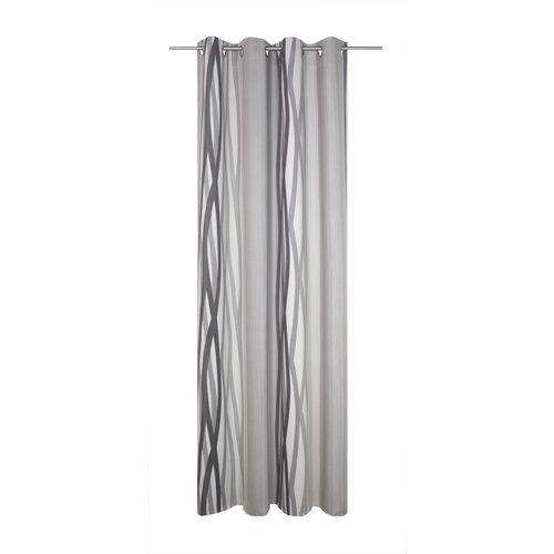 Brecken Eyelet Blackout Thermal Single Curtain Corrigan Stud