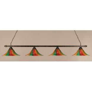 Red Barrel Studio Swanson 4-Light Pool Table Light