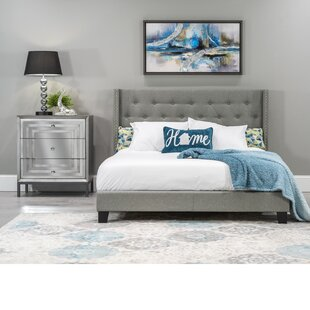 Alfreda Upholstered Panel Bed