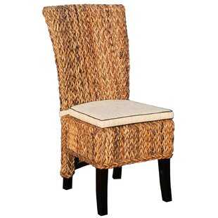 Side Chair with Cushion by Chic Teak