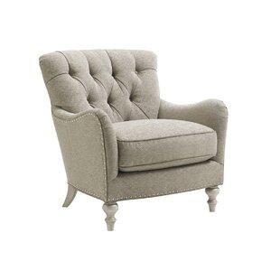 Oyster Armchair by Lexington