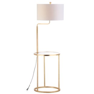 Modern tray table floor lamps allmodern amar side table 57 floor lamp aloadofball Image collections