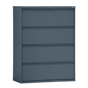 Clearance 4 Drawer Lateral Filing Cabinet by Symple Stuff