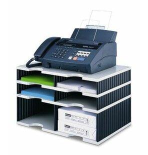Review 29.3cm H X 48.5cm W Desk Combination Unit