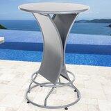 Stainless Steel Bar Table byPure Garden
