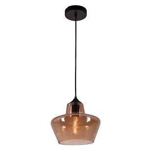 Modern schoolhouse pendant lighting allmodern collins 1 light schoolhouse pendant aloadofball Images