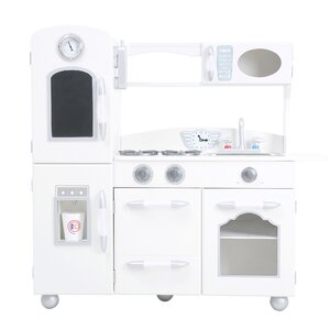 Wooden Play Kitchen Set