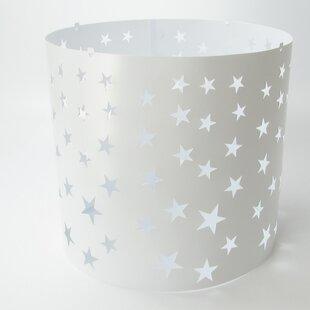 27cm Siluety Polypropylene Drum Pendant Shade with Magnetic Set by Ereki