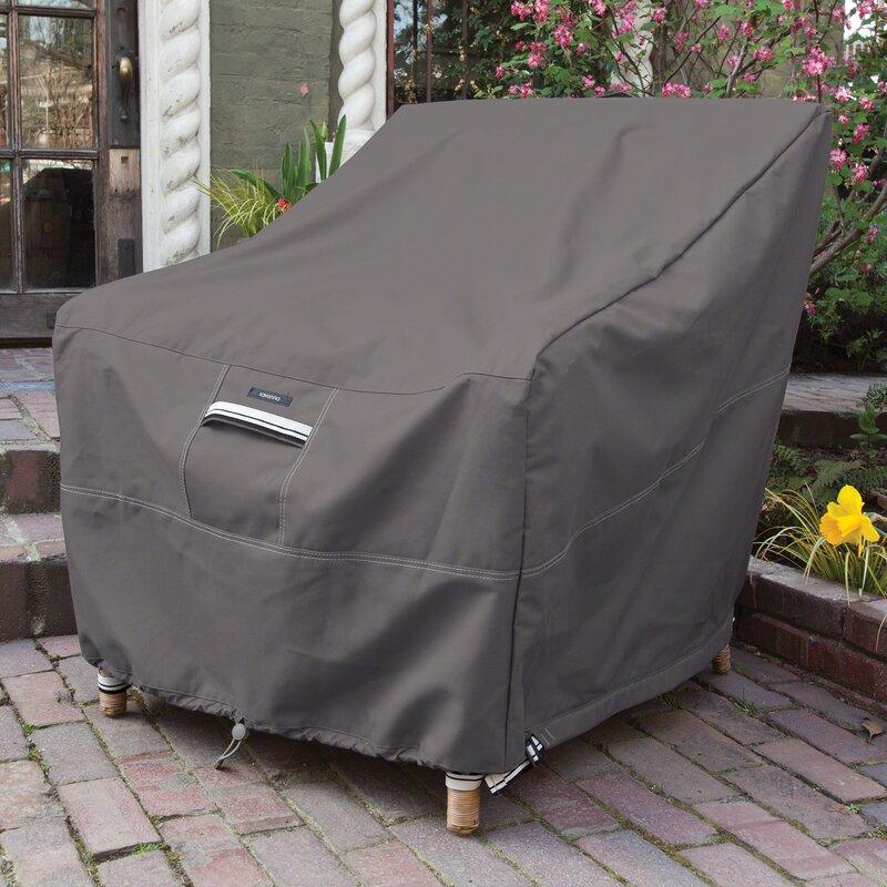 Freeport Park Kendala Water Resistant Patio Chair Cover with 7 Years \u0026 Reviews   Wayfair
