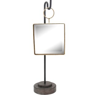 Buy clear Metal Square Freestanding Mirror ByGeorge Oliver