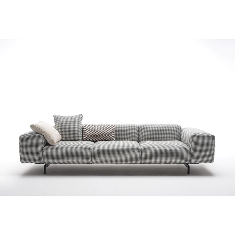 Kartell Largo 118 5 Recessed Arm Sofa
