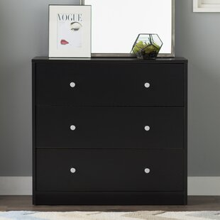 Conder 3 Drawer Chest by Mercury Row