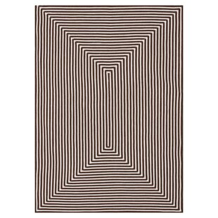 Kircher Hand-Woven Brown Indoor/Outdoor Area Rug