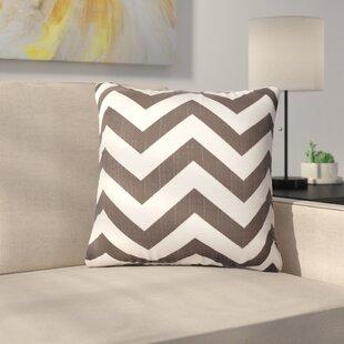Orrum Chevron Throw Pillow (Set of 2)