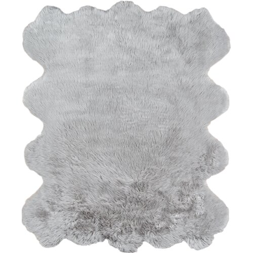 Union Rustic Wolk Gray Area Rug Reviews Wayfair Ca