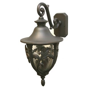 Top Reviews Phillipstown 3-Light Outdoor Wall Lantern By Alcott Hill