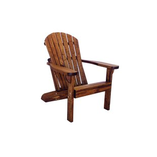 Poyner Patio Solid Wood Adirondack Chair