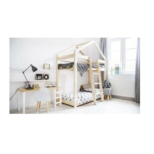 Wooden Bunk Bed by Wrigglebox