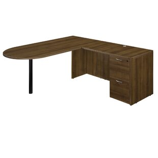 Fairplex 2 Drawers L-Shape Executive Desk