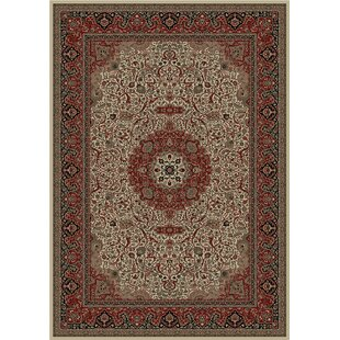 Affordable Izaiah Persian Dark Brown Classics Oriental Isfahan Area Rug By Alcott Hill
