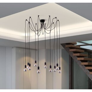 Linares 10-Light Cluster Pendant by 17 Stories