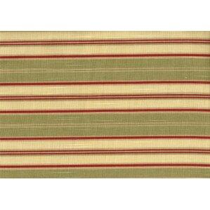 Autumn Morning Jasmine Antique Stripe Ottoman by South Sea Rattan