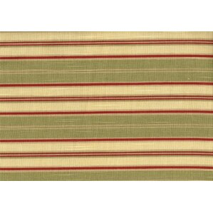 New Kauai Jasmine Antique Stripe Ottoman by South Sea Rattan