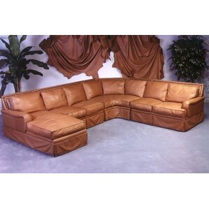 Hacienda Leather Sectional by Omnia Leather