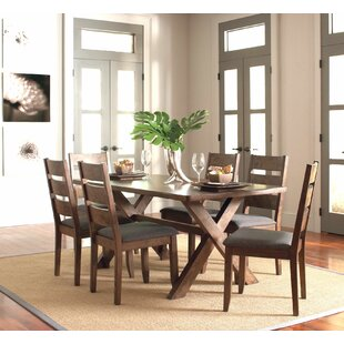 Gebhardt 7 Piece Dining Set Gracie Oaks