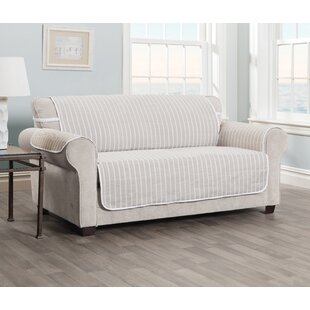 Compare Harper Striped T-cushion Sofa Slipcover by Innovative Textile Solutions Reviews (2019) & Buyer's Guide