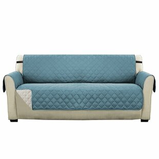 Winston Porter Diamond T-Cushion Sofa Slipcover