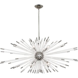 Andromeda 8-Light Chandelier by Robert Abbey