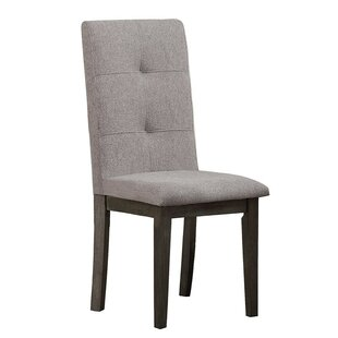 World Menagerie Scherer Upholstered Dining Chair (Set of 2)