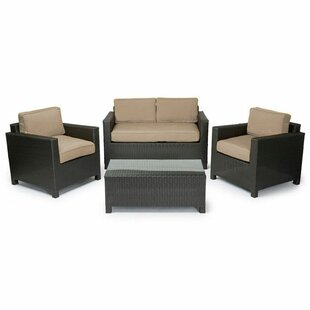 Brookfield 4 Piece Sofa Set with Cushions