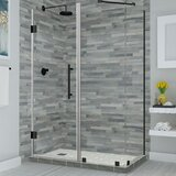 Bromley 30 x 72 Rectangle Hinged Shower Enclosure by Aston