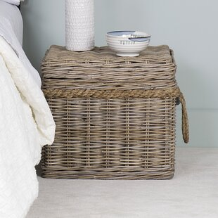 Vitiello Rattan Storage Trunk
