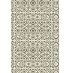 Jamari Quad European Design Gray/White Indoor/Outdoor Area Rug