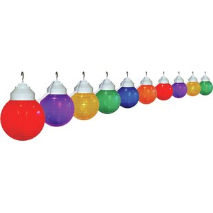 Best Choices 10-Light Globe String Lights By Polymer Products