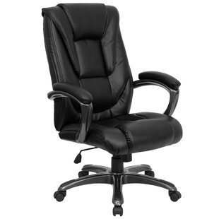 Clearance Genuine Leather Executive Chair by Flash Furniture Reviews (2019) & Buyer's Guide