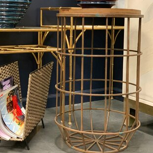 Inexpensive Koji Metal End Table by Sagebrook Home Reviews (2019) & Buyer's Guide