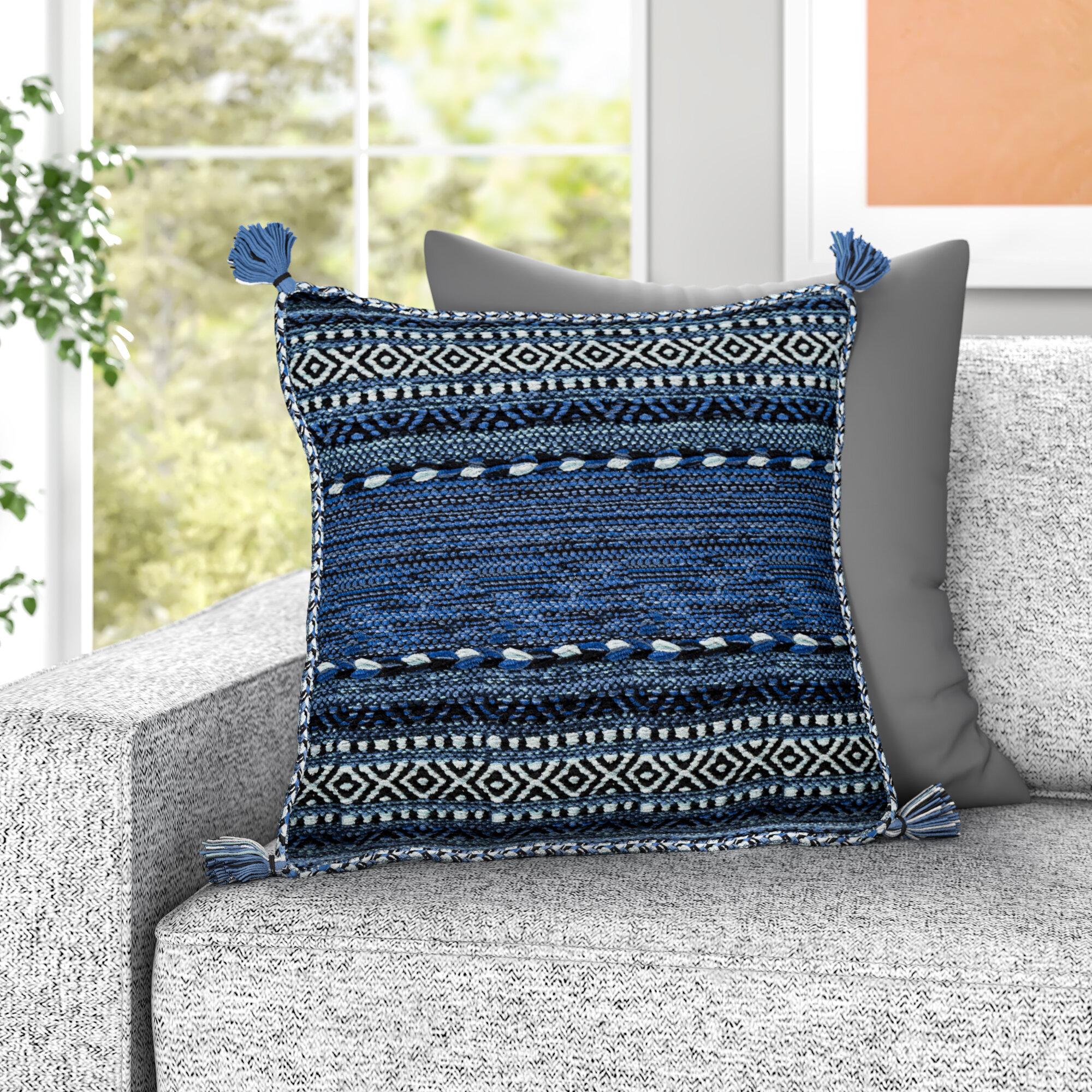 Blue Bohemian Throw Pillows You Ll Love In 2021 Wayfair