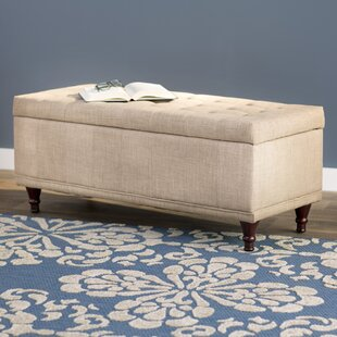 Southampton Upholstered Storage Bench by Three Posts